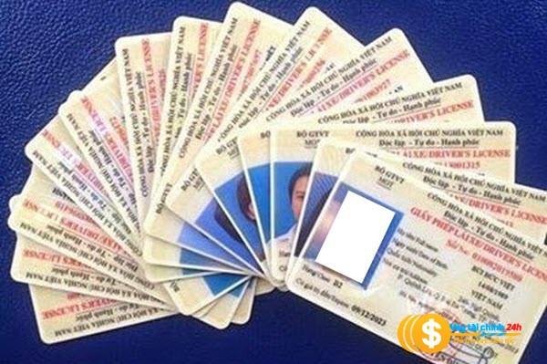 Vay tiền bằng cmnd và bằng lái xe tai Vaytiennhanh1s.com